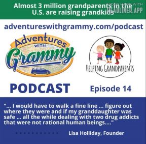 Helping Grandparents Spotlighted On Adventures With Grammy Podcast