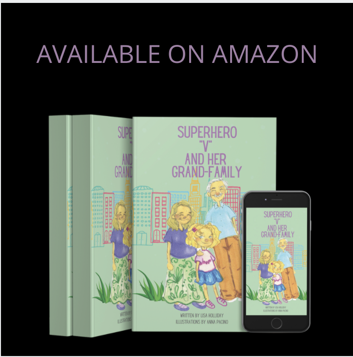 AVAILABLE NOW: Superhero V And Her Grandfamily